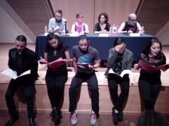 Lectura de Trilogía vampírica en Sala Manuel M. Ponce Jardín Borda, Cuernavaca